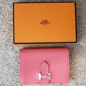 c5055da2356a Hermes Bags - 100% Authentic Hermes Wallet Rare Card Holder Case